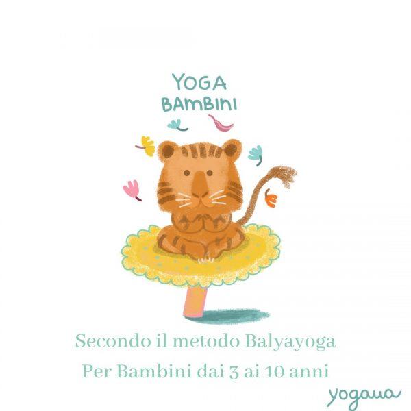 Yoga per Bambini - Incontri On line - Offerta libera